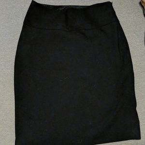 Sexy Black Pencil Skirt